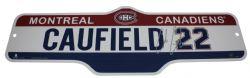 CANADIENS DE MONTREAL -  AFFICHE DE RUE 22 -  COLE CAUFIELD