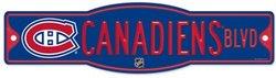 CANADIENS DE MONTREAL -  AFFICHE DE RUE