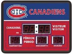 CANADIENS DE MONTREAL -  HORLOGE