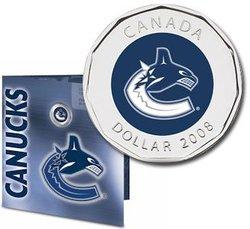 CANUCKS DE VANCOUVER -  ENSEMBLE CADEAU DES CANUCKS DE VANCOUVER -  PIÈCES DU CANADA 2008