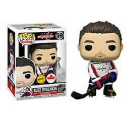 CAPITALS DE WASHINGTON -  FIGURINE POP! EN VINYLE DE ALEX OVECHKIN (GILET BLANC) (10 CM) 59