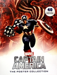 CAPTAIN AMERICA -  40 REMOVABLE POSTERS - POSTER COLLECTION