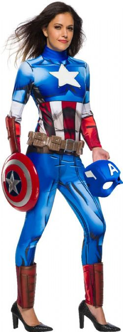 CAPTAIN AMERICA -  COSTUME DE CAPTAIN AMERICA (ADULTE)