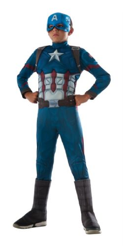 CAPTAIN AMERICA -  COSTUME RETRO DU CAPTAIN AMERICA (ENFANT) -  CAPTAIN AMERICA 3 : CIVIL WAR