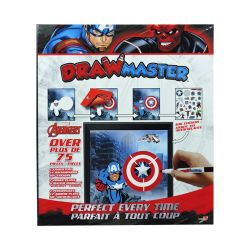 CAPTAIN AMERICA -  ENSEMBLE DE DESSIN EXCLUSIF -  DRAWMASTER