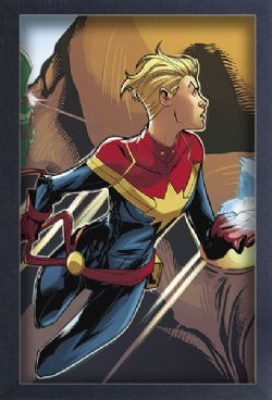 CAPTAIN MARVEL -  IMAGE ENCADRÉE