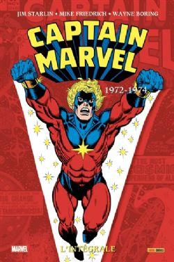 CAPTAIN MARVEL -  INTÉGRALE 1972-1974