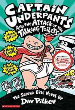 CAPTAIN UNDERPANTS -  ATTACK OF THE TALKING TOILETS 02