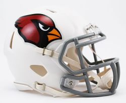 CARDINALS DE L'ARIZONA -  CASQUE -  MINI RÉPLIQUE