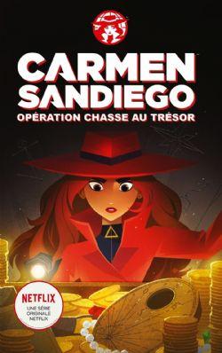 CARMEN SANDIEGO -  OPÉRATION CHASSE AU TRÉSOR (GRAND FORMAT)