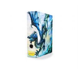 CARTABLE AVEC BOÎTIER -  DRAGON SHIELD - BLUE ART DRAGON