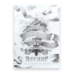 CARTE FORMAT POKER -  ARCANE - BLANC (INDEX REGULIER) -  ELLUSIONIST