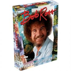 CARTE FORMAT POKER -  BOB ROSS QUOTES