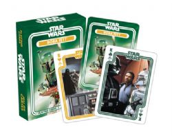 CARTE FORMAT POKER -  BOBA FETT -  STAR WARS