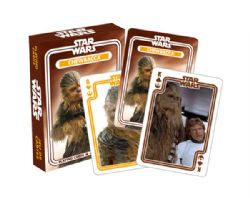 CARTE FORMAT POKER -  CHEWBACCA -  STAR WARS