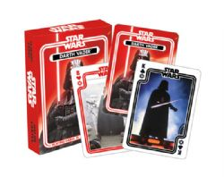 CARTE FORMAT POKER -  DARTH VADER -  STAR WARS
