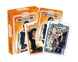 CARTE FORMAT POKER -  HAN SOLO -  STAR WARS