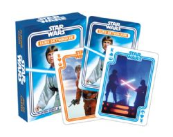 CARTE FORMAT POKER -  LUKE SKYWALKER -  STAR WARS