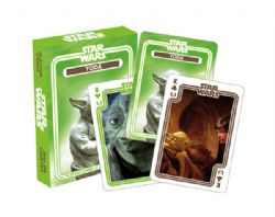 CARTE FORMAT POKER -  YODA -  STAR WARS