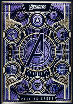 CARTES FORMAT POKER -  BICYCLE - THEORY-11 AVENGERS
