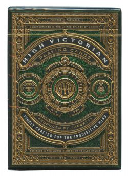 CARTES FORMAT POKER -  BICYCLE THEORY 11 - HIGH VICTORIAN (VERT)
