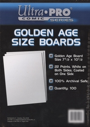 CARTONS -  FORMAT GOLDEN AGE (100)