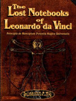 CASTLE FALKENSTEIN -  THE LOST NOTEBOOKS OF LEONARDO DA VINCI (ANGLAIS)