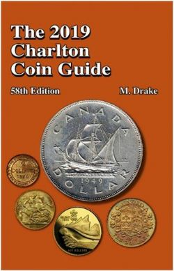 CATALOGUE CHARLTON STANDARD -  THE 2019 CANADIAN AND USA CHARLTON COIN GUIDE (58TH EDITION)