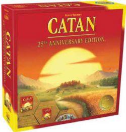 CATAN -  25TH ANNIVERSARY EDITION (ANGLAIS)