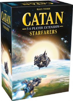 CATAN -  STARFARERS - 5 TO 6 PLAYER EXTENTION  (ANGLAIS)