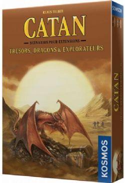 CATAN -  TRÉSORS, DRAGON ET EXPLORATEURS -  EXTENSION (FRANÇAIS)