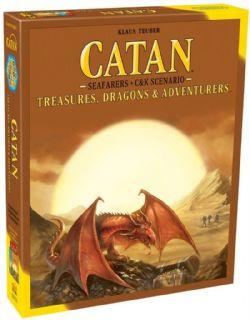 CATAN -  TREASURES, DRAGONS & ADVENTURERS - EXTENSION (ANGLAIS)