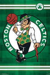 CELTICS DE BOSTON -  AFFICHE