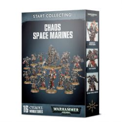 CHAOS SPACE MARINES -  START COLLECTING!