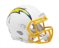 CHARGERS DE LOS ANGELES -  MINI RÉPLIQUE DE CASQUE BLANC