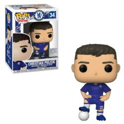 CHELSEA FOOTBALL CLUB -  FIGURINE POP! EN VINYLE DE CHRISTIAN PULISIC #22 (10 CM) 34