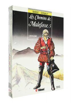 CHEMINS DE MALEFOSSE, LES -  BD USAGÉES TOMES 01, 02, 05