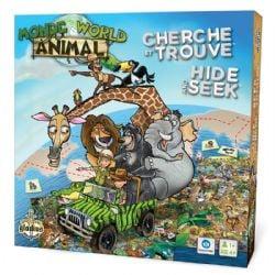 CHERCHE ET TROUVE -  MONDE ANIMAL (MULTILINGUE)