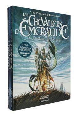 CHEVALIERS D'EMERAUDE, LES -  BD USAGÉES - TOMES 01, 02, 04