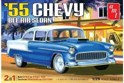 CHEVROLET -  BEL AIR SEDAN 1955 1/25 (MOYEN)
