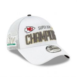 CHIEFS DE KANSAS CITY -  CASQUETTE DES CHAMPIONS DU SUPER BOWL 2020