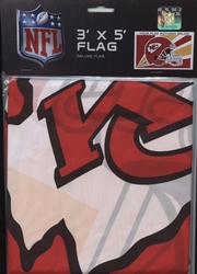 CHIEFS DE KANSAS CITY -  DRAPEAU VERTICAL 36