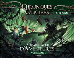 CHRONIQUES OUBLIÉES : FANTASY -  VENGEANCE (FRANÇAIS) -  INITIATION AU JEU D'AVENTURES