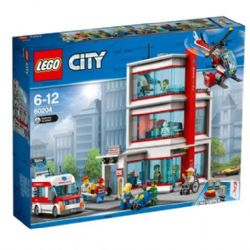 CITY -  L'HÔPITAL DE LEGO CITY (861 PIÈCES) 60204