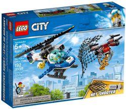 CITY -  LA POLICE DU CIEL ET LA POURSUITE DU DRONE (192 PIÈCES) 60207