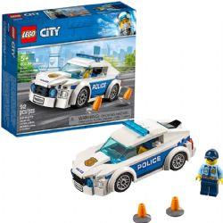 CITY -  LA VOITURE DE PATROUILLE DE LA POLICE (92 PIÈCES) 60239