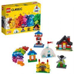 CLASSIC -  BRIQUES ET MAISONS (60 PIÈCES) 11008