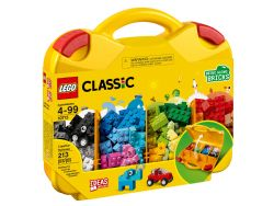 CLASSIC -  VALISE CREATIVE LEGO (213 PIÈCES) 10713