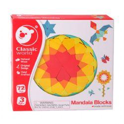 CLASSIC WORLD -  MANDALA BLOCKS (68 PIÈCES)