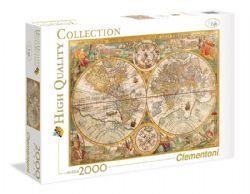 CLEMENTONI -  CARTE ANCIENNE (2000 PIÈCES)